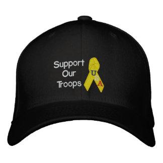 Boné Bordado Apoie nosso chapéu bordado tropas