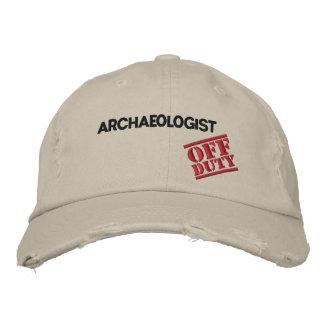 Boné Bordado Arqueólogo fora de serviço