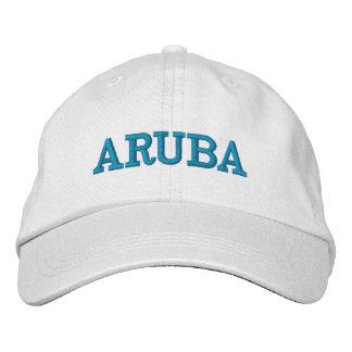 Boné Bordado Aruba ostenta o chapéu