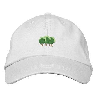 Boné Bordado Árvores
