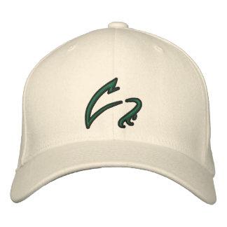 Boné Bordado As garras brancas bordaram o chapéu