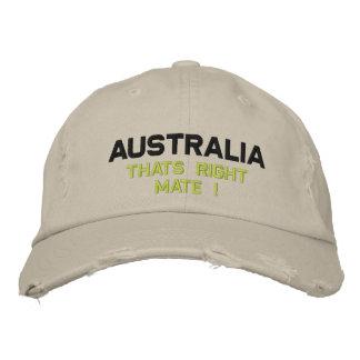 Boné Bordado Austrália