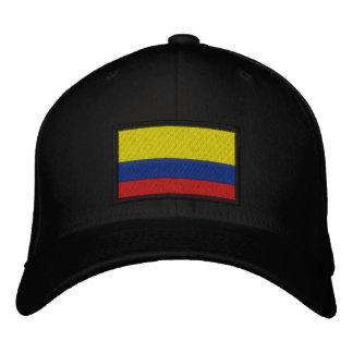 Boné Bordado Bandeira de Colômbia