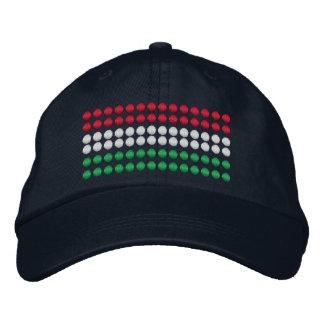 Boné Bordado Bandeira de Hungria