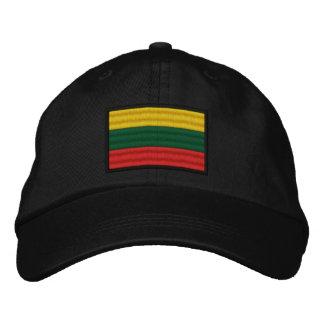 Boné Bordado Bandeira de Lithuania