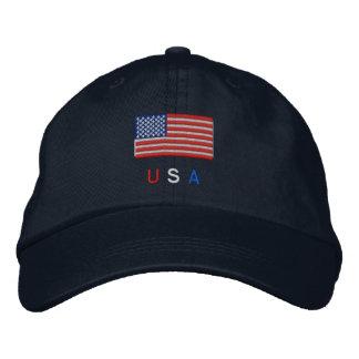 Boné Bordado Bandeira dos EUA