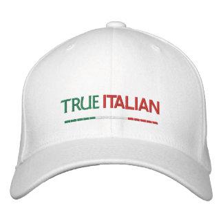 Boné Bordado Bandeira Italiano-Italiana verdadeira