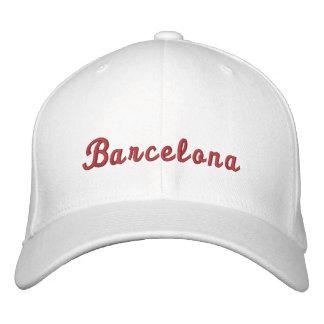 Boné Bordado Barcelona