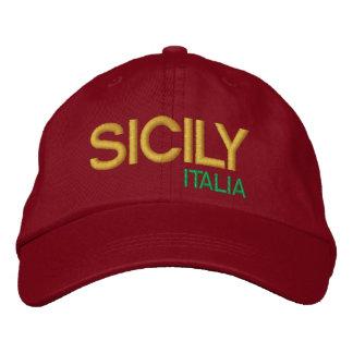 Boné Bordado Basebol Sicilia da Dinamarca do cappello do chapéu