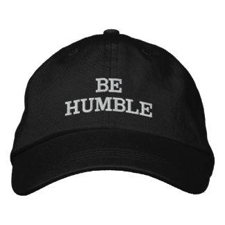 BONÉ BORDADO BE HUMILDE HAT