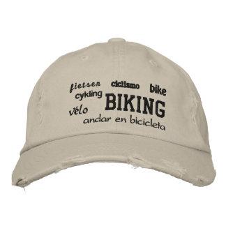 Boné Bordado Biking - chapéu bordado