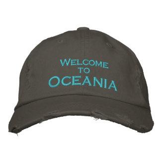 Boné Bordado Boa vinda a Oceania