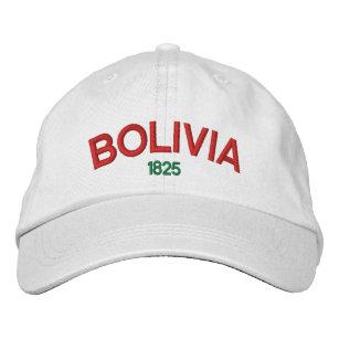 aef8bd4950925 Boné Bordado Bolívia personalizou o chapéu ajustável