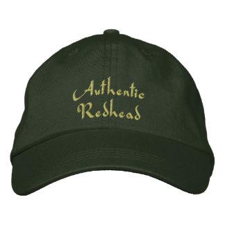 Boné Bordado Boné/chapéu bordados do Redhead irlandês autêntico