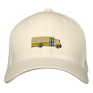 Boné Bordado Bordado do ônibus da escola feita sob encomenda