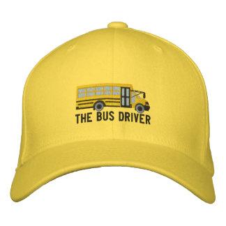 Boné Bordado Bordado do ônibus da escola feita sob encomenda do