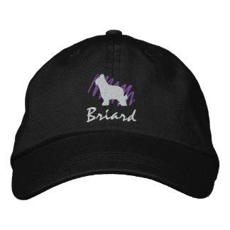 Boné Bordado Briard Scribbled