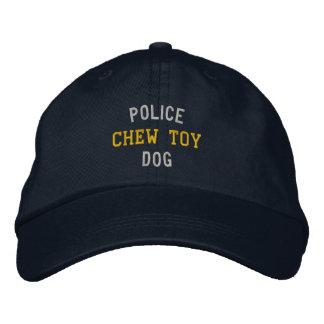 Boné Bordado Brinquedo da mastigação do cão de polícia