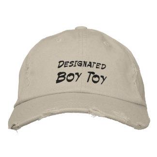 Boné Bordado Brinquedo designado do menino