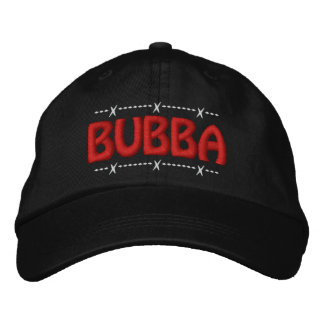 Boné Bordado Bubba! Apelido engraçado do campónio