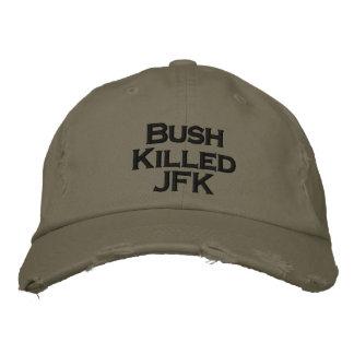 Boné Bordado Bush matou JFK