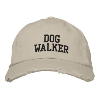 Boné Bordado Caminhante do cão