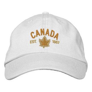 Boné Bordado canadense Canadá do aniversário