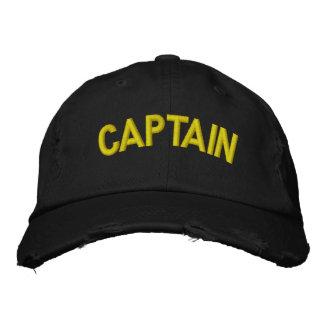 Boné Bordado Capitão de um barco ou de uma equipe ostentando