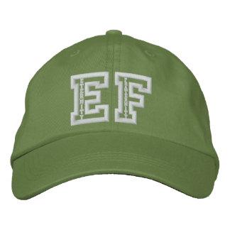 Boné Bordado Chapéu ajustável básico do roupa alternativo