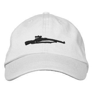 Boné Bordado Chapéu ajustável bordado de Mosin Nagant