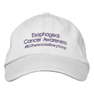 Boné Bordado Chapéu ajustável da consciência esofágica do