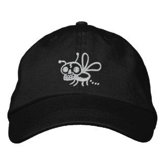 Boné Bordado Chapéu ajustável da traça da morte de Pooping