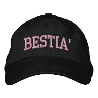 Boné Bordado Chapéu ajustável de Bestia