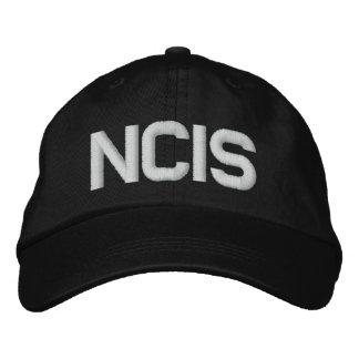 Boné Bordado Chapéu ajustável de NCIS