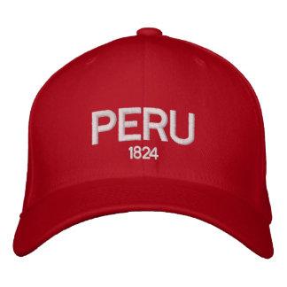 Boné Bordado Chapéu ajustável de Peru 1824