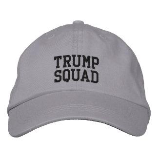 Boné Bordado Chapéu ajustável do pelotão do trunfo