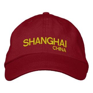 Boné Bordado Chapéu ajustável personalizado China de Shanghai