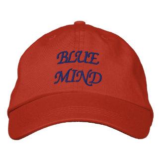 Boné Bordado Chapéu ajustável personalizado - MENTE AZUL