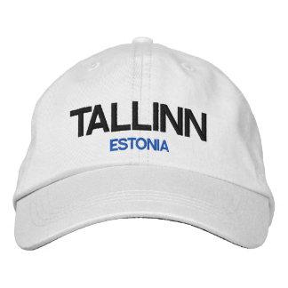 Boné Bordado Chapéu ajustável personalizado Tallinn de Estónia