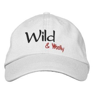 Boné Bordado Chapéu ajustável selvagem