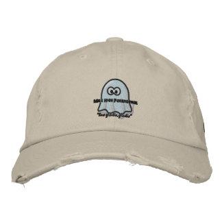 Boné Bordado Chapéu alto do logotipo de Parnaormal Ghostie da