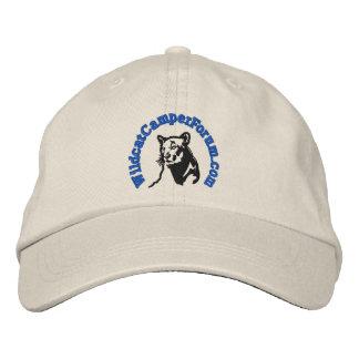 Boné Bordado Chapéu azul desorganizado do logotipo