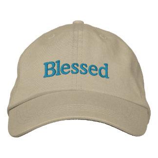 Boné Bordado Chapéu bordado ajustável abençoado