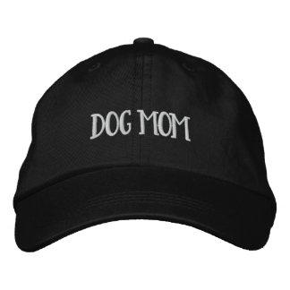 Boné Bordado Chapéu bordado ajustável da mamã do cão (tipo