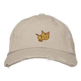 Boné Bordado Chapéu bordado amante do gato