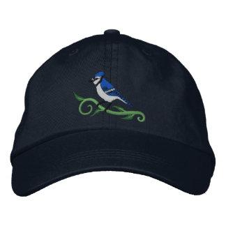 Boné Bordado Chapéu bordado azul de Jay