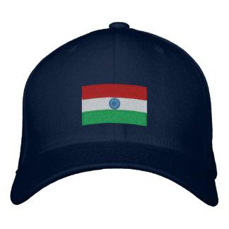 Boné Bordado Chapéu bordado bandeira do flexfit de India