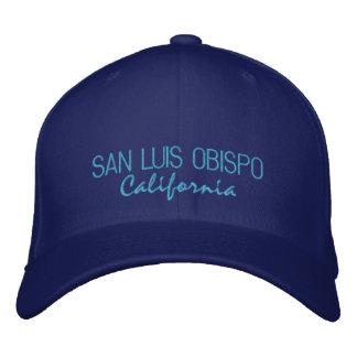 Boné Bordado Chapéu bordado Califórnia de San Luis Obispo