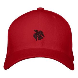 Boné Bordado Chapéu bordado corvo de Viking