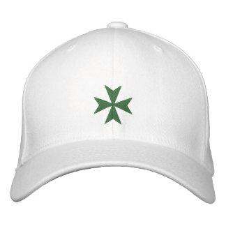 Boné Bordado Chapéu bordado cruz de Lazarus